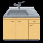 台所のシンクのイラスト