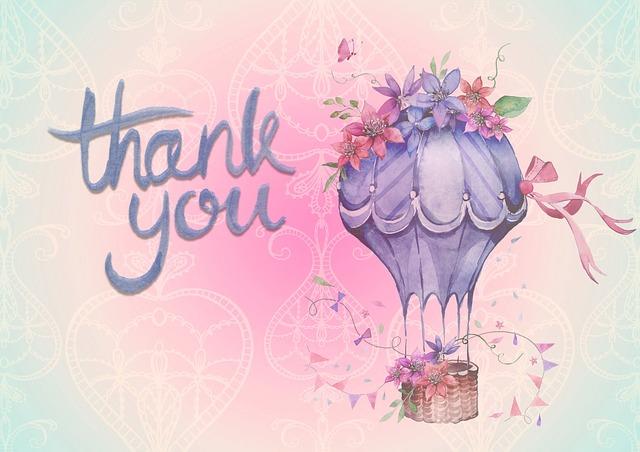 「ありがとう」感謝の言葉を伝える丁寧な言い方!敬語や文例