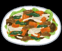 food_yasaiitame